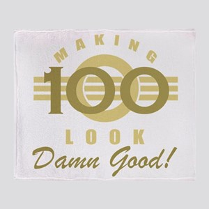 Making 100 Look Good Throw Blanket