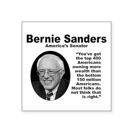 Sanders: 400 Square Sticker 3