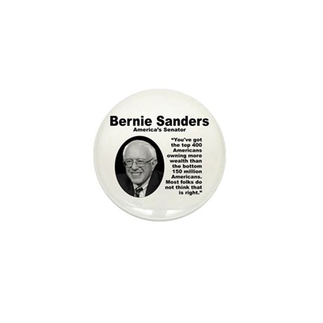 Sanders: 400 Mini Button