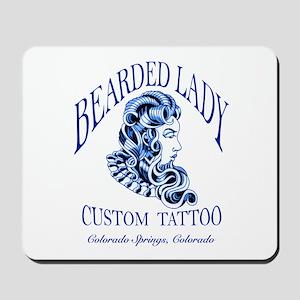 Bearded Lady Logo Mousepad
