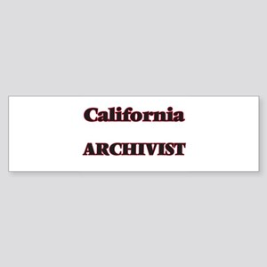 California Archivist Bumper Sticker