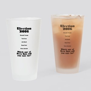 Election 2016 Drinking Glass