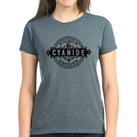 Vintage Style Cyanide Women's Dark T-Shirt