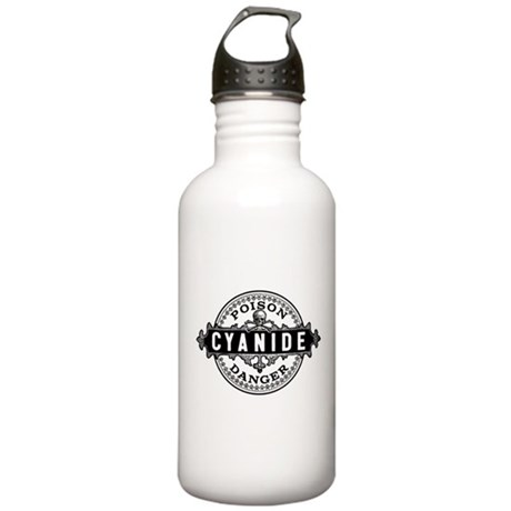 Vintage Style Cyanide Stainless Water Bottle 1.0L