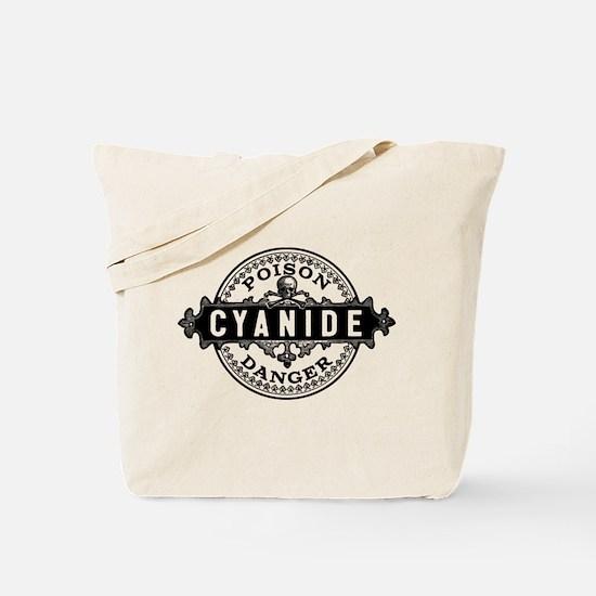 Vintage Style Cyanide Tote Bag