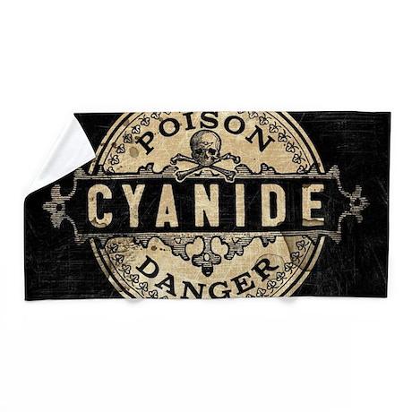 Vintage Style Cyanide Beach Towel