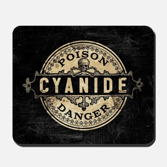 Vintage Style Cyanide Mousepad