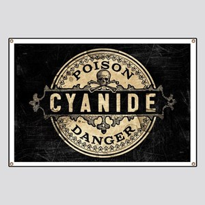 Vintage Style Cyanide Banner