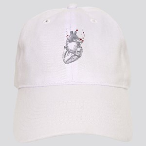 Anitomical Heart with Blood Drops Cap