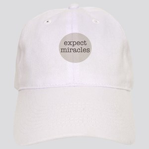 Expect Miracles (Gray Design) Baseball Cap