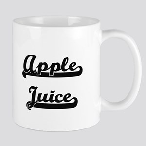 Apple Juice Classic Retro Design Mugs