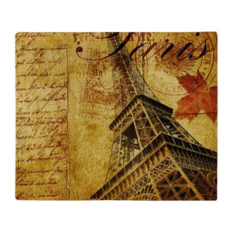 Paris VI Throw Blanket