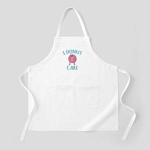 I Donut Care Apron