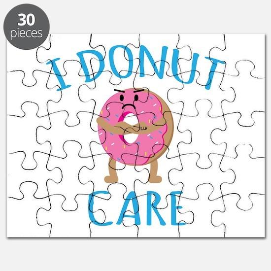 I Donut Care Puzzle