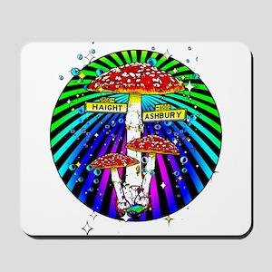 Haight Ashbury Mushrooms Mousepad
