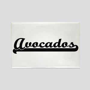 Avocados Classic Retro Design Magnets