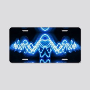 Soundwave deejay Techno mus Aluminum License Plate