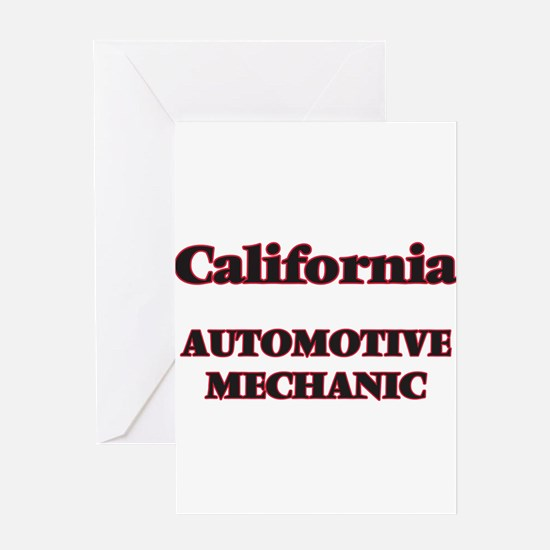 California Automotive Mechanic Greeting Cards