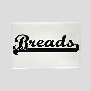 Breads Classic Retro Design Magnets