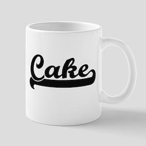 Cake Classic Retro Design Mugs