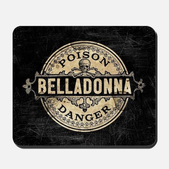 Vintage Style Belladonna Poison Mousepad