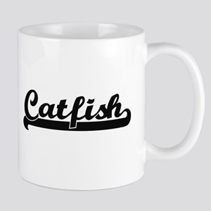 Catfish Classic Retro Design Mugs