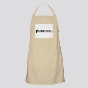 Cauliflower Classic Retro Design Apron