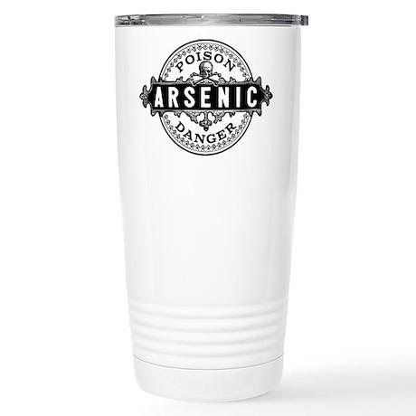 Arsenic Vintage Style Stainless Steel Travel Mug