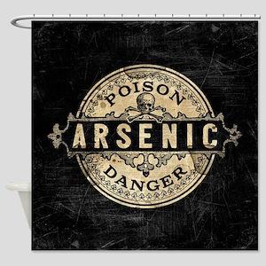 Arsenic Vintage Style Shower Curtain