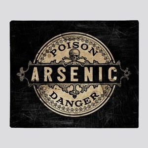 Arsenic Vintage Style Throw Blanket