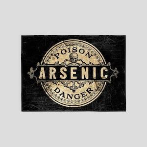 Arsenic Vintage Style 5'x7'Area Rug