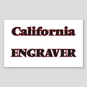 California Engraver Sticker