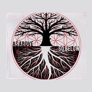 AS ABOVE SO BELOW - Tree of life Flower of Life Th