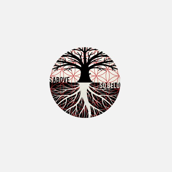 AS ABOVE SO BELOW - Tree of life Flower of Life Mi