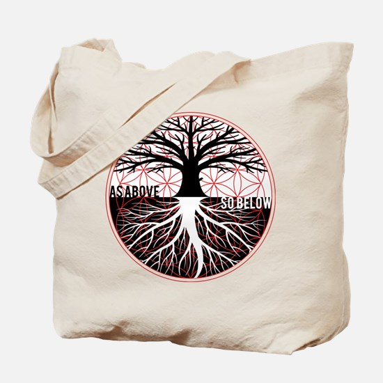AS ABOVE SO BELOW - Tree of life Flower of Life To