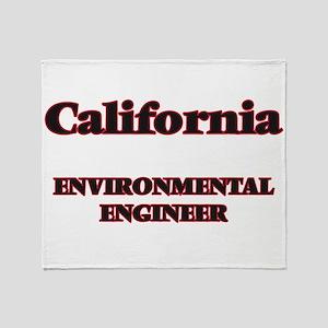 California Environmental Engineer Throw Blanket
