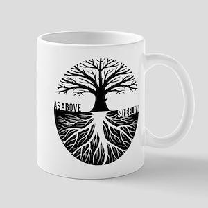 AS ABOVE SO BELOW Tree of life Mugs