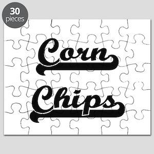 Corn Chips Classic Retro Design Puzzle