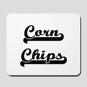 Corn Chips Classic Retro Design Mousepad