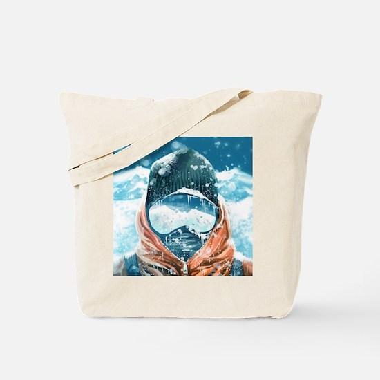 Cute Mountaineering Tote Bag