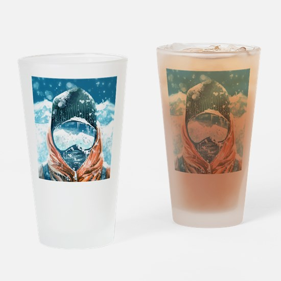 Funny Frozen Drinking Glass