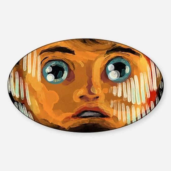 Unique Interstellar Sticker (Oval)