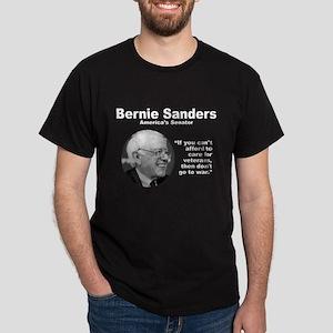 Sanders: Veterans Dark T-Shirt