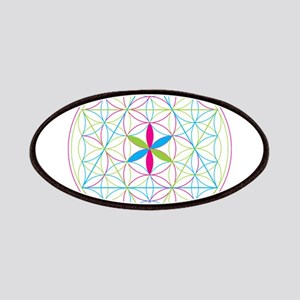 Flower of life tetraedron/merkaba Patch