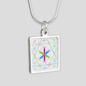 Flower of life tetraedron/merkaba Necklaces