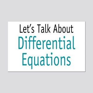 Differential Equation Mini Poster Print