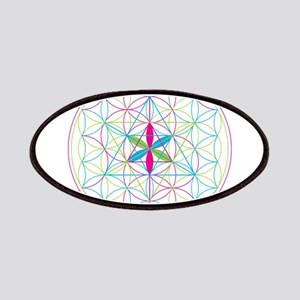Flower of life Metatron Merkaba Patch