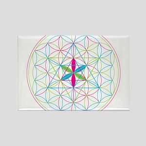 Flower of life Metatron Merkaba Magnets