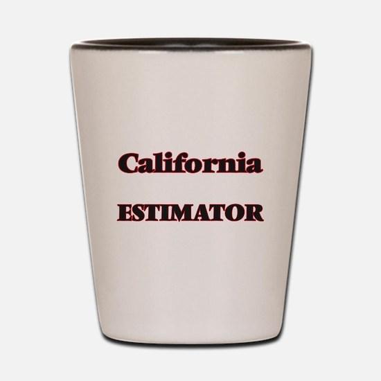 California Estimator Shot Glass