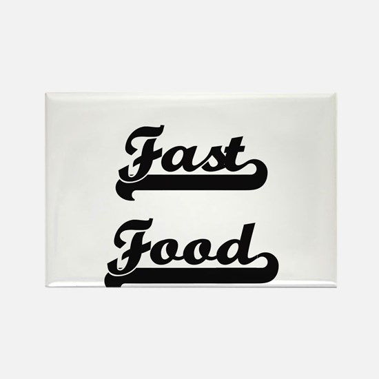 Fast Food Classic Retro Design Magnets